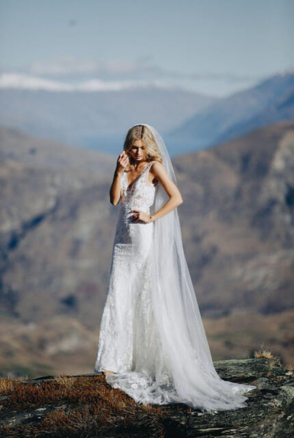 Made With Love Bridal – Size 8 A-Line dress | Second hand wedding dresses Greenwood - 7