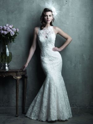 A-Line dress by Allure Couture