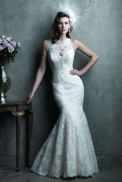 Allure Couture – Size 12 Fishtail dress | Second hand wedding dresses Red Hill - Size 12