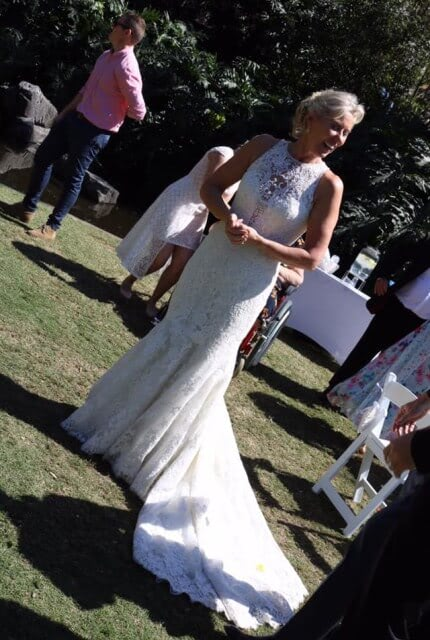 Allure Couture – Size 12 Fishtail dress | Second hand wedding dresses Red Hill - 5