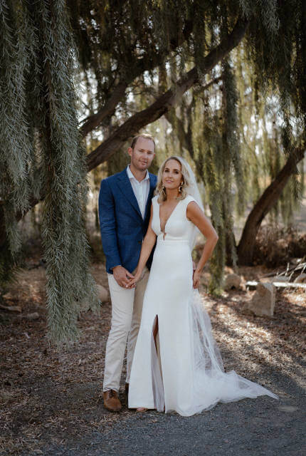 Bespoke / Other – Size 8 Fit and Flare dress | Second hand wedding dresses Mentone - 7