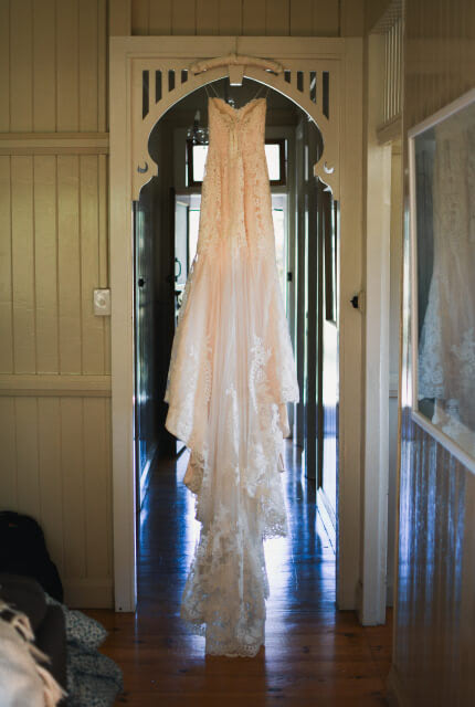 Eddy K – Size 8 Trumpet dress | Second hand wedding dresses Mount Coolum - 5