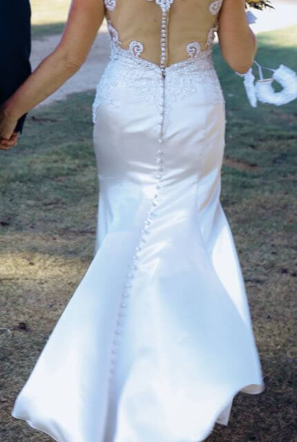 Stella York – Size 10 Fit and Flare dress | Second hand wedding dresses KEILOR EAST - 2