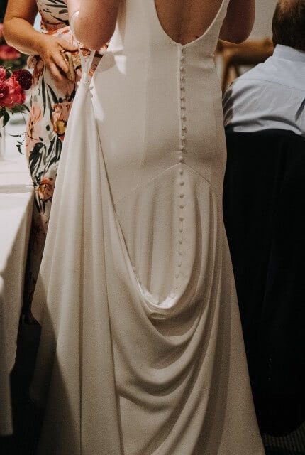 Allure Romance – Size 10 Fit and Flare dress | Second hand wedding dresses Toowoomba - 5