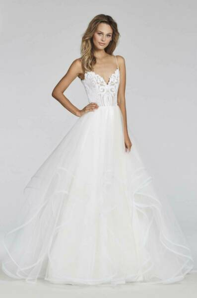 Hayley Paige – Size 14 Ball Gown dress | Second hand wedding dresses Greenacre - 6
