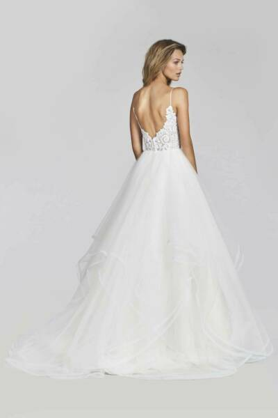 Hayley Paige – Size 14 Ball Gown dress | Second hand wedding dresses Greenacre - 7