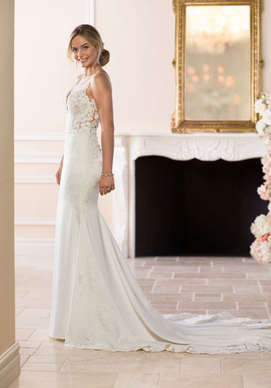 Stella York – Size 6 A-Line dress | Second hand wedding dresses Hughesdale - 3