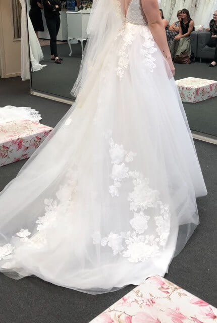 Bespoke / Other – Size 8 Ball Gown dress | Second hand wedding dresses Upper Kedron - 5