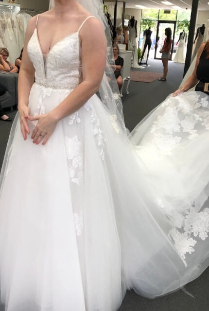 Bespoke / Other – Size 8 Ball Gown dress | Second hand wedding dresses Upper Kedron - 2