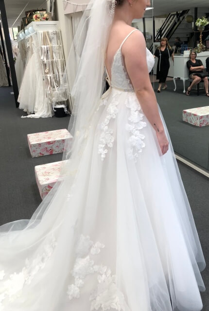 Bespoke / Other – Size 8 Ball Gown dress | Second hand wedding dresses Upper Kedron - 4
