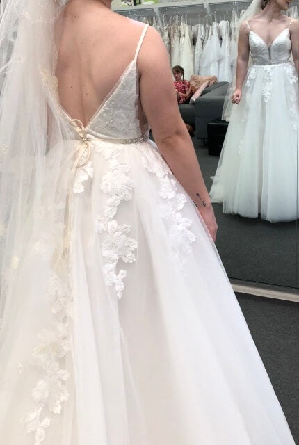 Bespoke / Other – Size 8 Ball Gown dress | Second hand wedding dresses Upper Kedron - 3
