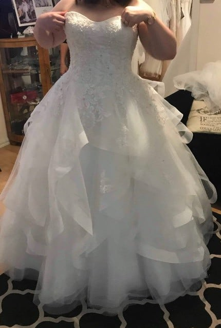 Christina Rossi – Size 18 Ball Gown dress | Second hand wedding dresses Wyndham Vale - 3