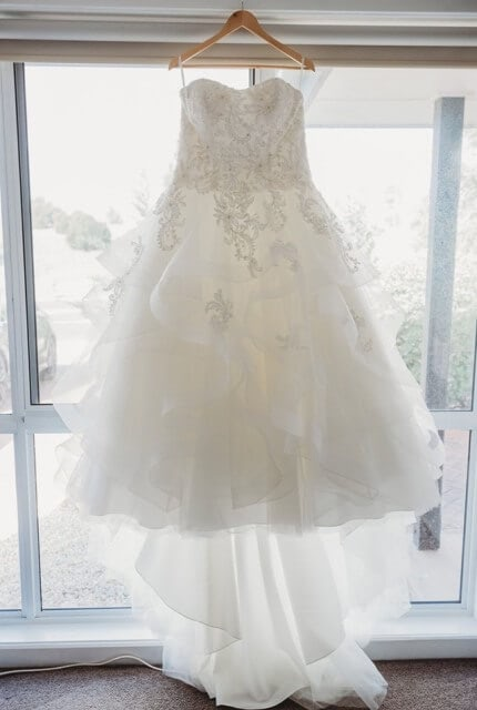 Christina Rossi – Size 18 Ball Gown dress | Second hand wedding dresses Wyndham Vale - Size 18