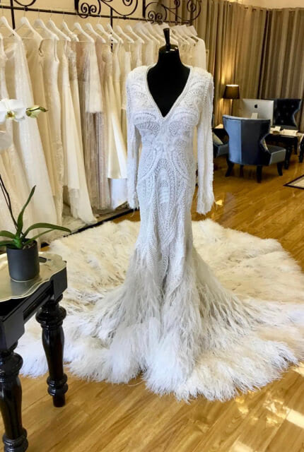Bespoke / Other – Size 12 Fishtail dress | Second hand wedding dresses Abbotsford - Size 12