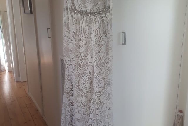 Bespoke / Other – Size 12 Fit and Flare dress | Second hand wedding dresses Ballarat - 4