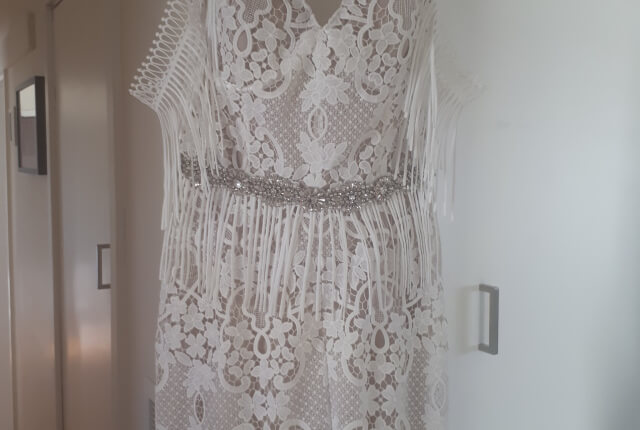 Bespoke / Other – Size 12 Fit and Flare dress | Second hand wedding dresses Ballarat - 3