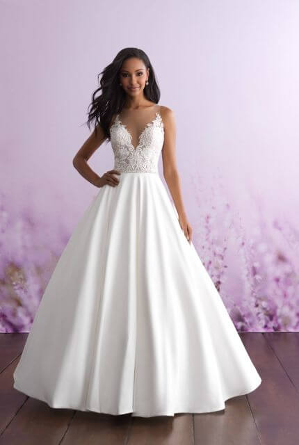 Allure Bridals – Size 8 Ball Gown dress | Second hand wedding dresses Rosebery - 5