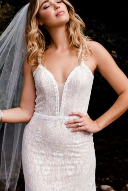 Bespoke / Other – Size 12 Fit and Flare dress | Second hand wedding dresses Essendon - 2