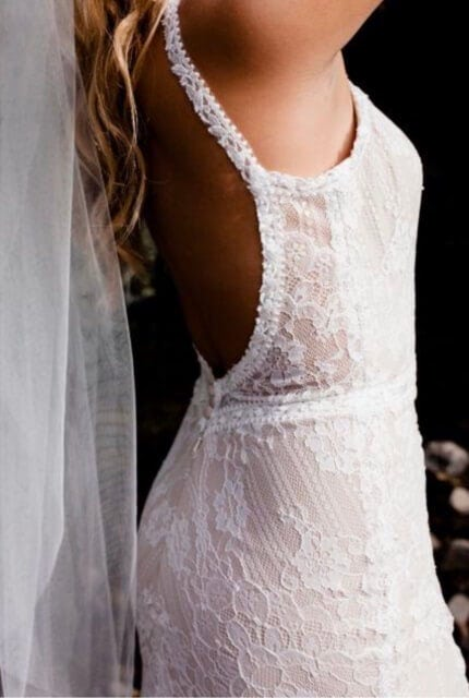 Bespoke / Other – Size 12 Fit and Flare dress | Second hand wedding dresses Essendon - 4