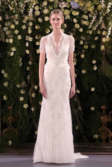 Jenny Packham – Size 12 Fishtail dress | Second hand wedding dresses Denmark - Size 12