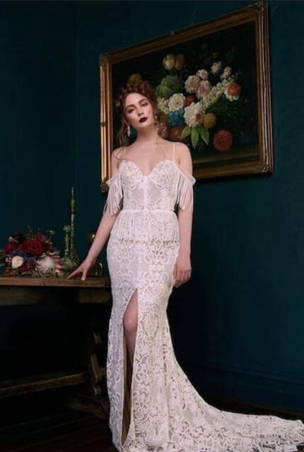 Bespoke / Other – Size 12 Fit and Flare dress | Second hand wedding dresses Ballarat - Size 12