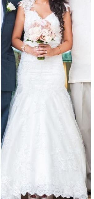 Bespoke / Other – Size 8 Fishtail dress | Second hand wedding dresses Springfield Lakes - Size 8