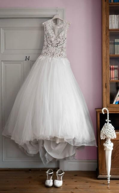 Martina Liana – Size 10 Ball Gown dress | Second hand wedding dresses Lane Cove North - 2