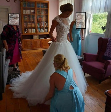 Martina Liana – Size 10 Ball Gown dress | Second hand wedding dresses Lane Cove North - 9