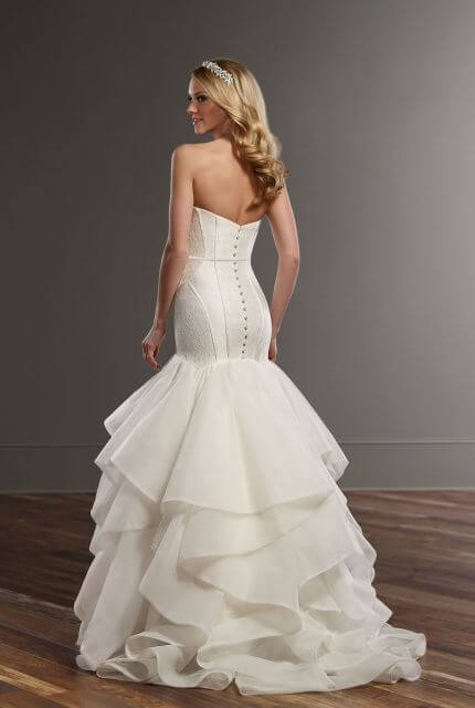 Martina Liana – Size 10 Fit and Flare dress | Second hand wedding dresses Picnic Point - 2