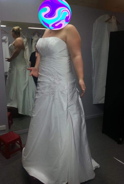 Bespoke / Other – Size 16 A-Line dress | Second hand wedding dresses Toowoomba - 5
