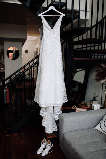 Suzanne Harward – Size 8 A-Line dress | Second hand wedding dresses South Yarra - 2
