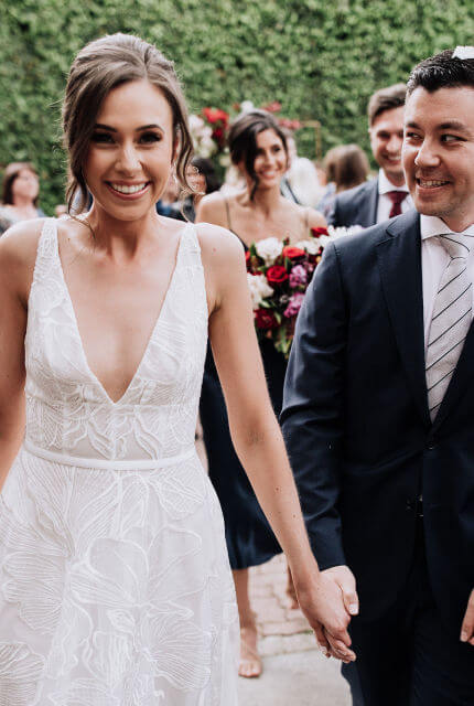 Suzanne Harward – Size 8 A-Line dress | Second hand wedding dresses South Yarra - 4