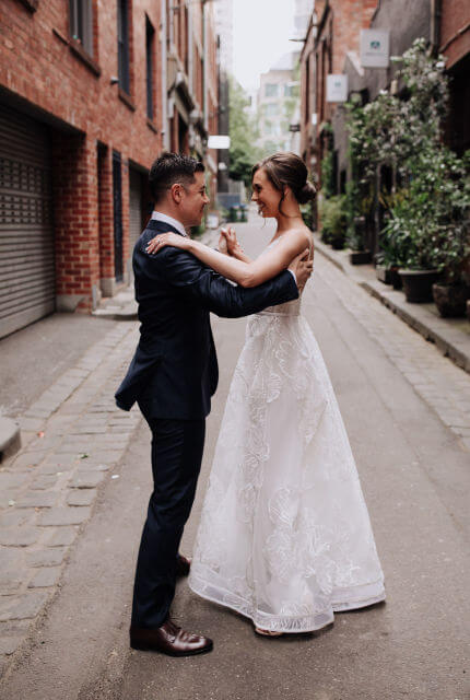 Suzanne Harward – Size 8 A-Line dress | Second hand wedding dresses South Yarra - 5