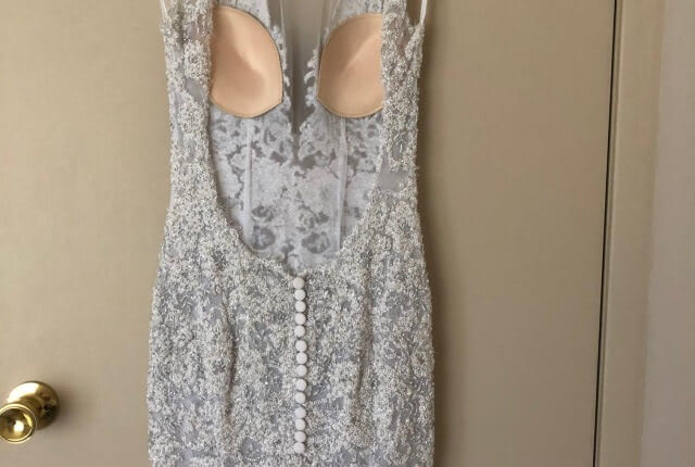 Oglia-Loro – Size 8 Fit and Flare dress | Second hand wedding dresses Whiteheads Creek - 4