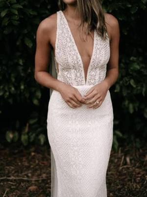 Fit and Flare dress by Made With Love Bridal