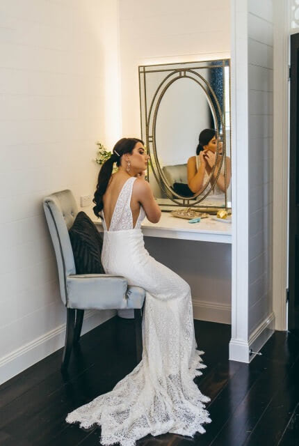 Made With Love Bridal – Size 10 Slip dress | Second hand wedding dresses Forest Hill - 4