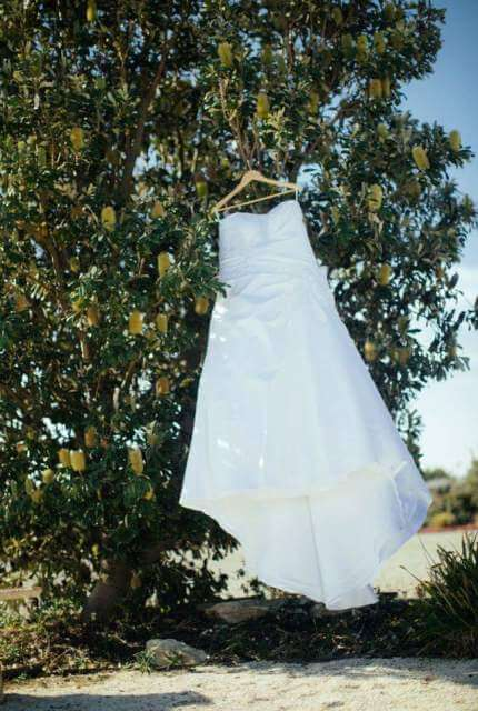 Bespoke / Other – Size 16 A-Line dress | Second hand wedding dresses Toowoomba - Size 16