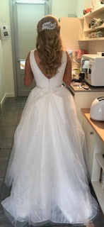 Bespoke / Other – Size 8 Ball Gown dress | Second hand wedding dresses Hawthorn - 4