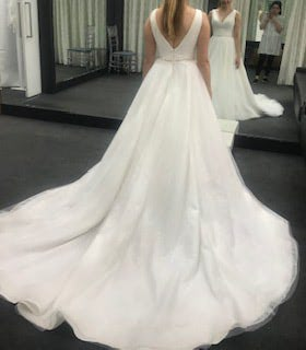 Bespoke / Other – Size 8 Ball Gown dress | Second hand wedding dresses Hawthorn - 2