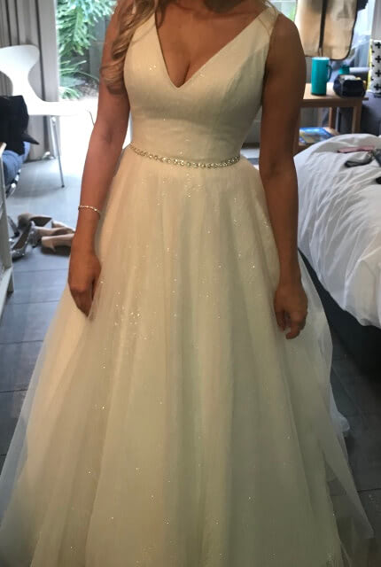 Bespoke / Other – Size 8 Ball Gown dress | Second hand wedding dresses Hawthorn - 3
