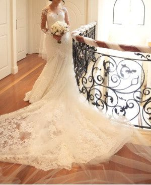Fit and Flare dress by Norma Bridal Couture