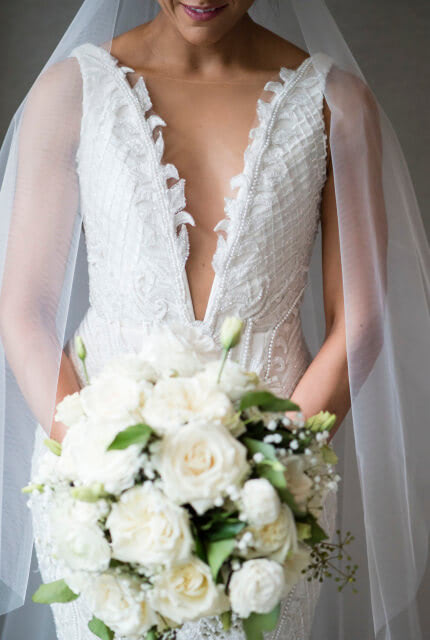 Jason Grech White – Size 8 Fit and Flare dress | Second hand wedding dresses Yarraville - Size 8