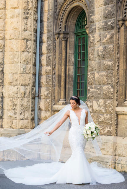 Jason Grech White – Size 8 Fit and Flare dress | Second hand wedding dresses Yarraville - 4