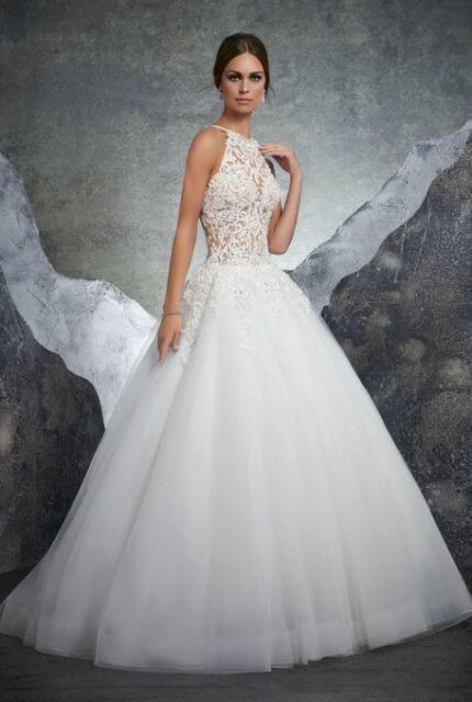 Mori Lee – Size 10 Ball Gown dress | Second hand wedding dresses Lilydale - Size 10