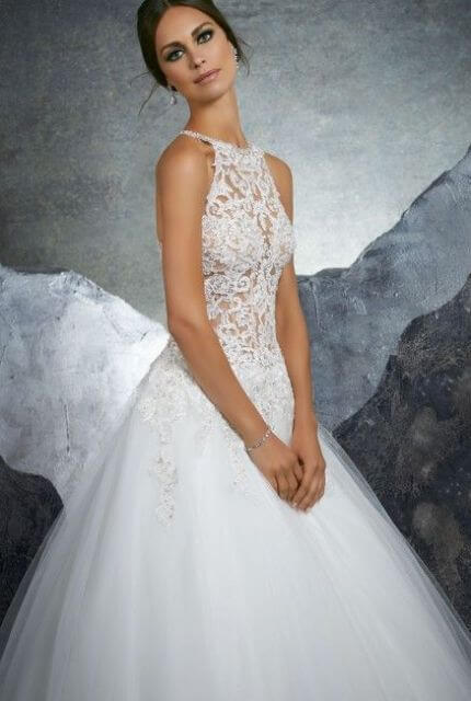 Mori Lee – Size 10 Ball Gown dress | Second hand wedding dresses Lilydale - 2