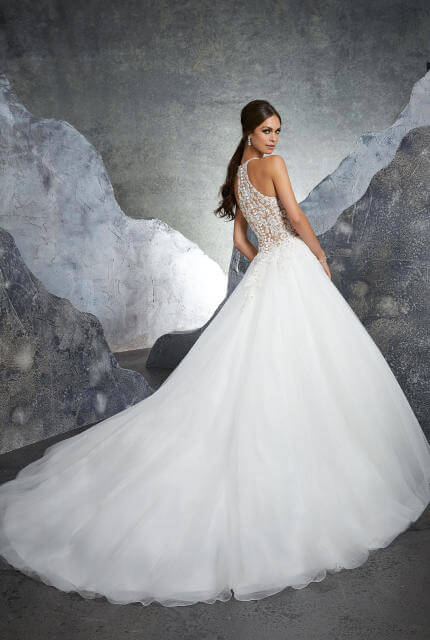 Mori Lee – Size 10 Ball Gown dress | Second hand wedding dresses Lilydale - 3