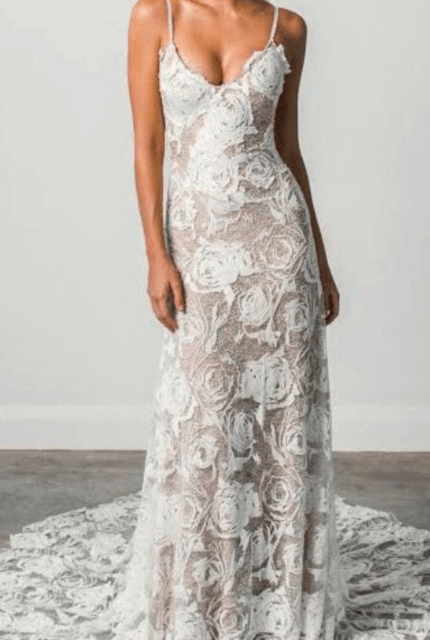 Grace Loves Lace – Size 10 Fit and Flare dress | Second hand wedding dresses Bangalow - Size 10