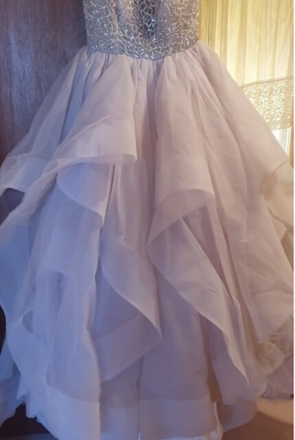 Hayley Paige – Size 12 Ball Gown dress | Second hand wedding dresses Wagga wagga - 3