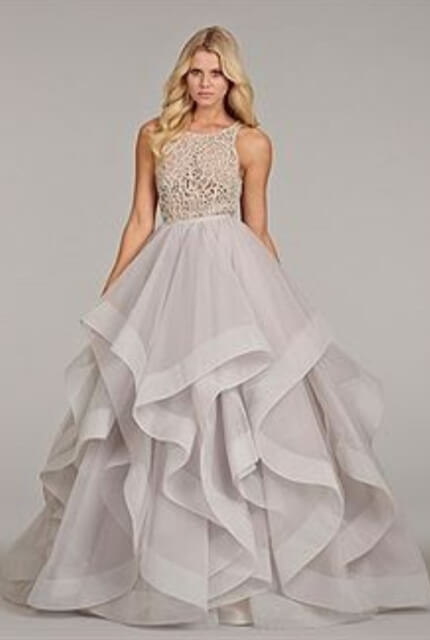 Hayley Paige – Size 12 Ball Gown dress | Second hand wedding dresses Wagga wagga - 2
