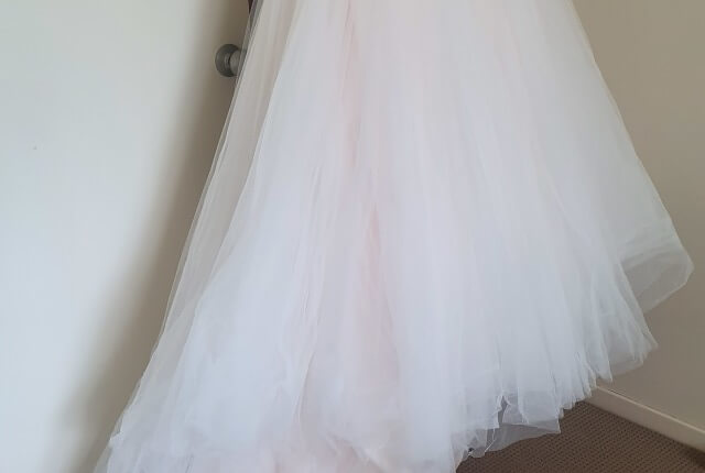 Cizzy – Size 16 Strapless dress | Second hand wedding dresses Muswellbrook - 7